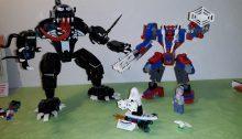 Lego spider mech vs venom